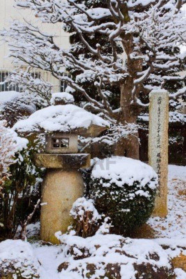 Snow Covered Yukimi doro