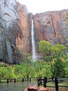 Sinawava-waterfall