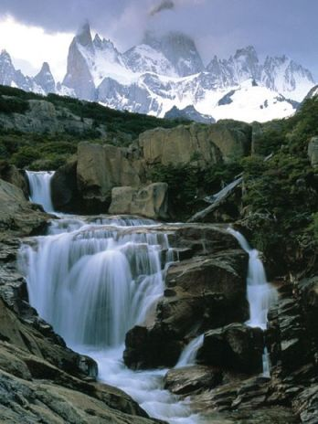 Andes Waterfall