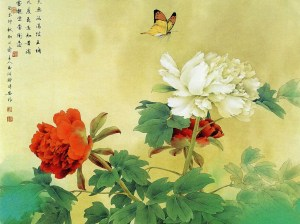 peony-and-butterfly