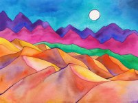 Water Color Dunes